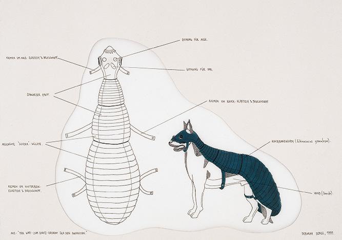 Der Hund - als Wirt - ertarnt sich seinen Parasiten, 1999